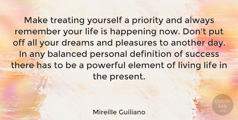 Mireille Guiliano Make Treating Yourself A Priority And Always