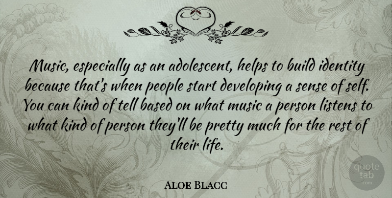 Aloe Blacc Music Especially As An Adolescent Helps To Build