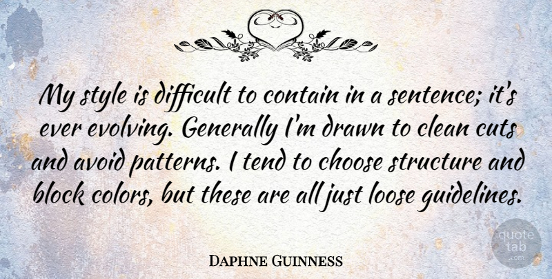 Daphne Guinness My Style Is Difficult To Contain In A Sentence