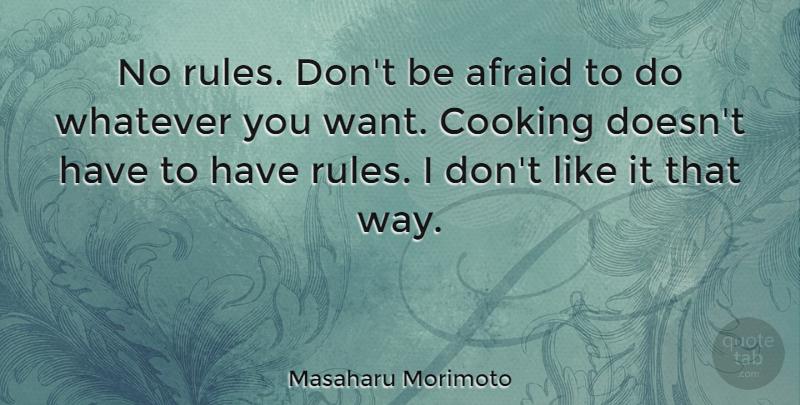 Masaharu Morimoto No Rules Dont Be Afraid To Do Whatever You Want