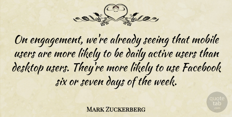 mark zuckerberg on engagement we re already seeing that mobile