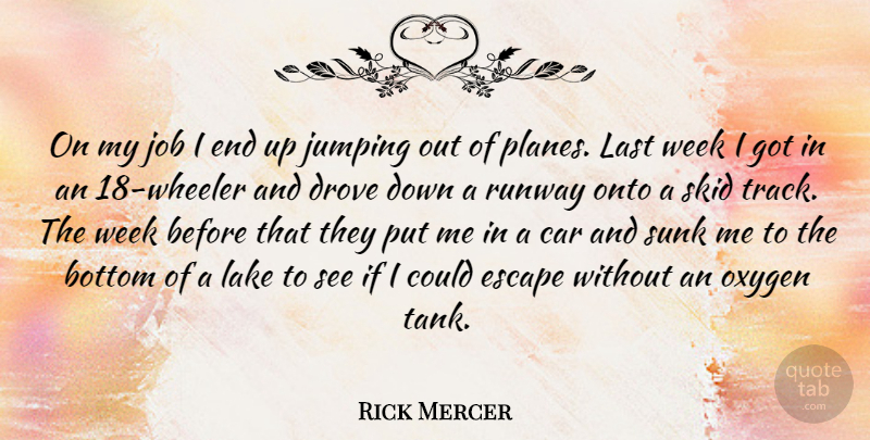 Rick Mercer On My Job I End Up Jumping Out Of Planes Last Week I
