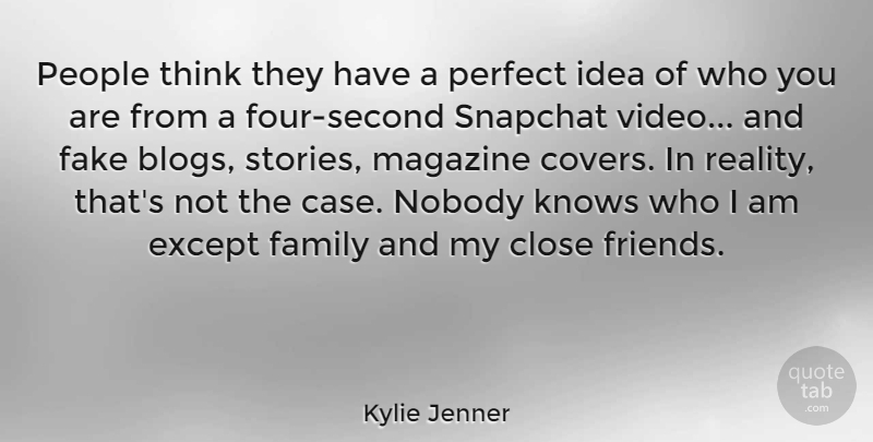 Kylie Jenner People Think They Have A Perfect Idea Of Who You Are