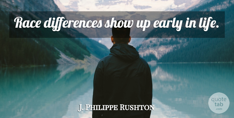 J Philippe Rushton Race Differences Show Up Early In Life Quotetab