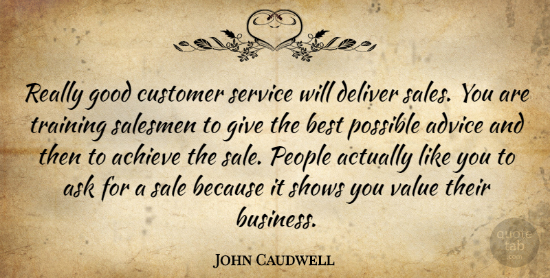 John Caudwell: Really good customer service will deliver ...