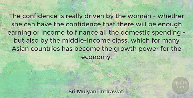 Sri Mulyani Indrawati The Confidence Is Really Driven By The Woman