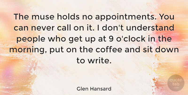glen hansard the muse holds no appointments you can never call