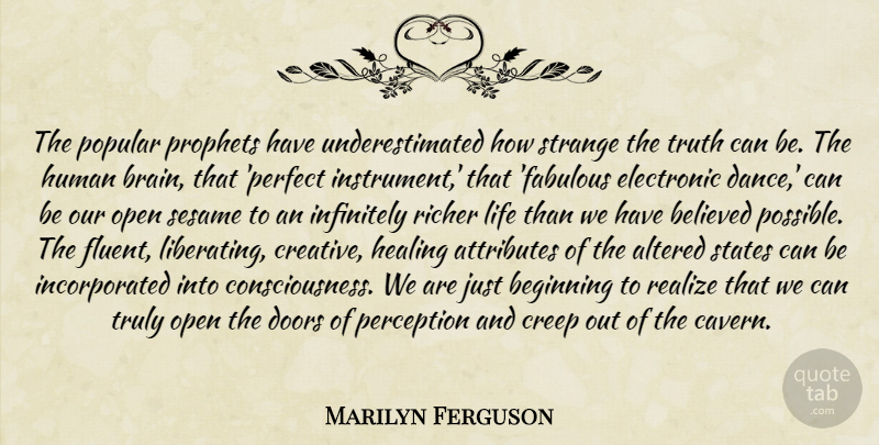 Marilyn Ferguson The Popular Prophets Have Underestimated How