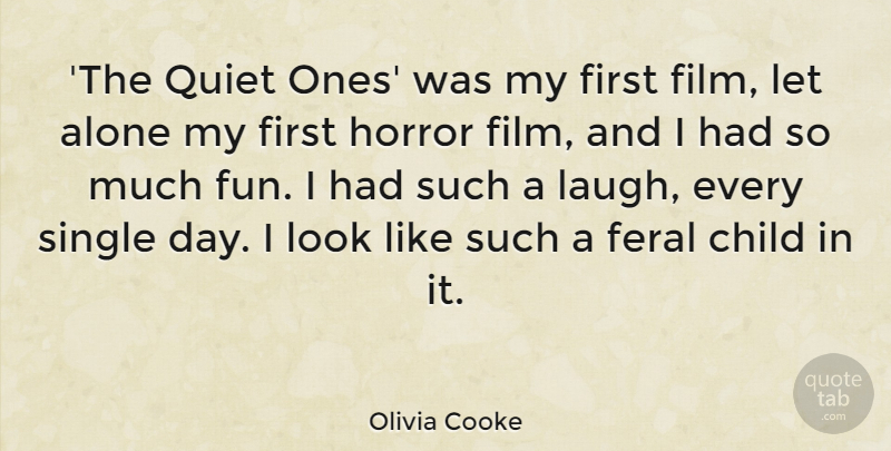Olivia Cooke The Quiet Ones Was My First Film Let Alone My First