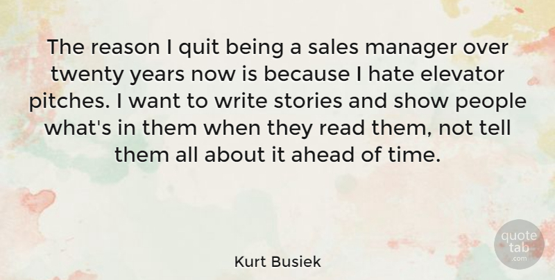 Kurt Busiek The Reason I Quit Being A Sales Manager Over Twenty