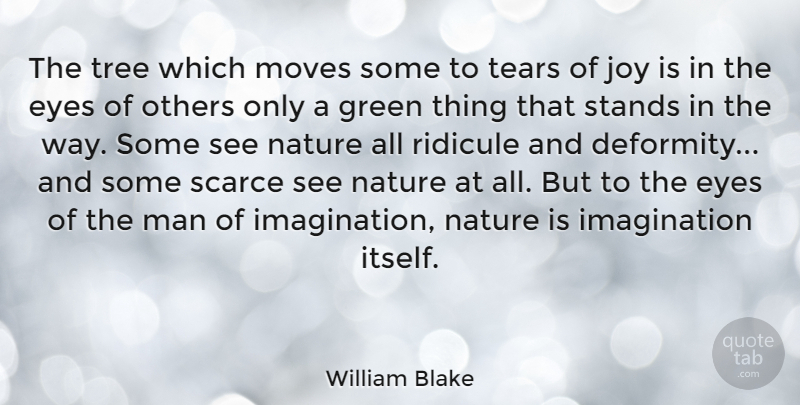 William Blake The Tree Which Moves Some To Tears Of Joy Is In The
