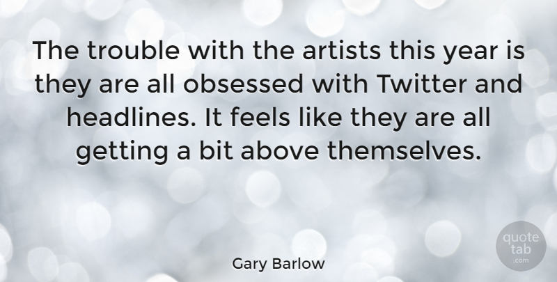 Gary Barlow The Trouble With The Artists This Year Is They Are All