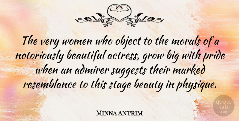 Minna Antrim The Very Women Who Object To The Morals Of A