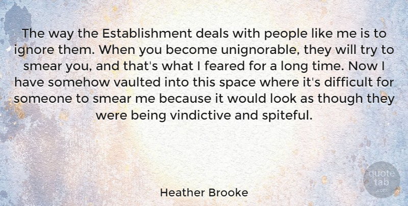 Heather Brooke The Way The Establishment Deals With People Like Me