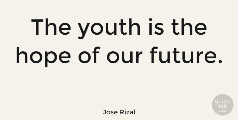 jose rizal sayings about youth
