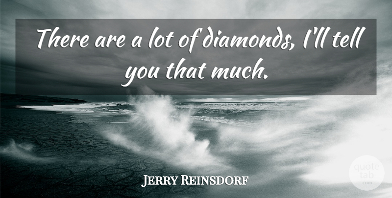 Jerry Reinsdorf Quote About undefined: There Are A Lot Of...