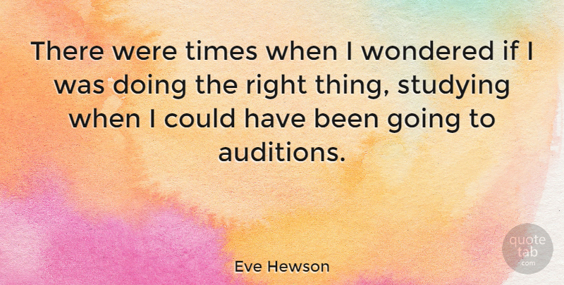 Eve Hewson There Were Times When I Wondered If I Was Doing The