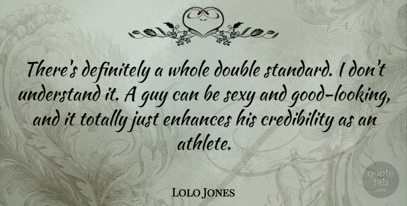 Lolo Jones Theres Definitely A Whole Double Standard I Dont
