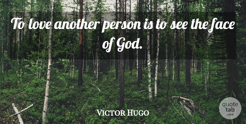 Victor Hugo Quote About Love, Wedding, Happy Valentines Day: To Love Another Person Is...