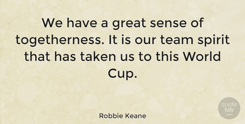 Robbie Keane: We have a great sense of togetherness  It is