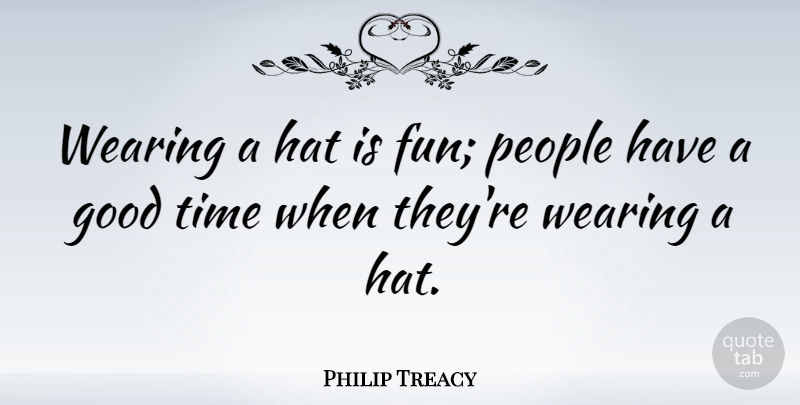 Philip Treacy: Wearing A Hat Is Fun; People Have A Good