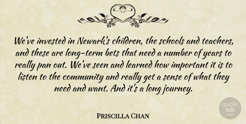 Priscilla Chan: We've invested in Newark's children, the