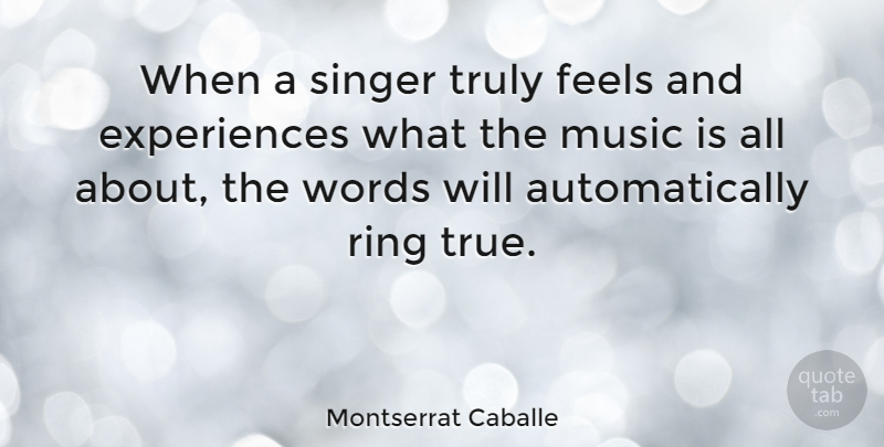 Montserrat Caballe When A Singer Truly Feels And Experiences What