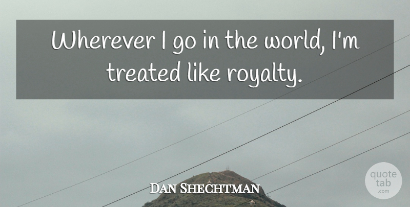 Dan Shechtman Quote About undefined: Wherever I Go In The...