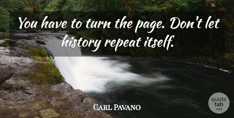 Carl Pavano: You have to turn the page. Don\'t let history ...