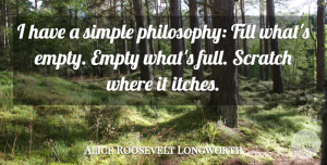 Voltaire Quote About Funny, Witty, Philosophy: I Have A Simple Philosophy...