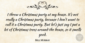 Clarence Clemons Quote About Christmas, Party, House: I Throw A Christmas Party...