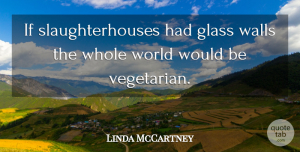 Linda McCartney Quote About American Photographer: If Slaughterhouses Had Glass Walls...
