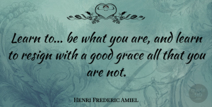 Inspiration Quotes, Henri Frederic Amiel Quote About Being Yourself, Inspiration, Being Single: Learn To Be What You...