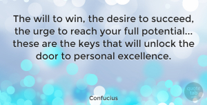 Positive Quotes, Confucius Quote About Positive, Monday, Attitude: The Will To Win The...